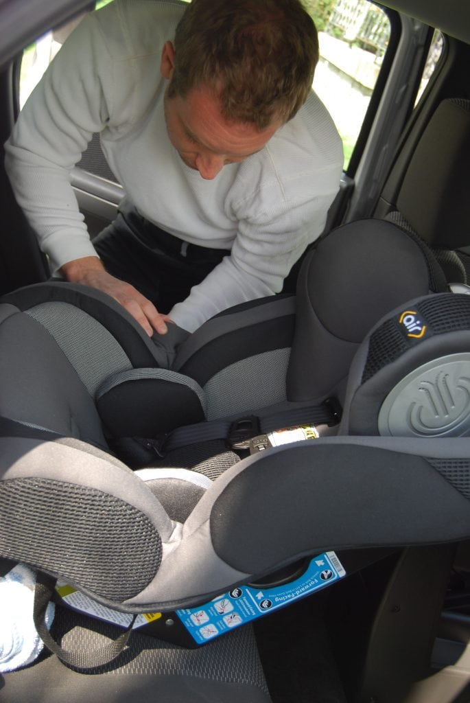 Installing Safety 1st Complete Air Convertible Car Seat