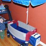 Little Tikes Deluxe Ride & Relax® Wagon with Umbrella