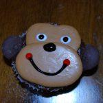 Monkey Peanut Butter Cupcakes
