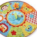 Infantino Jumbo Wheel Play Space & Twist and Fold Gym
