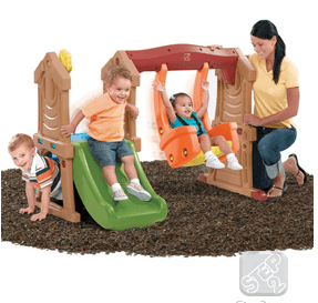 step2 play up toddler swing and slide review a mom 39 s impression resource for busy parents. Black Bedroom Furniture Sets. Home Design Ideas