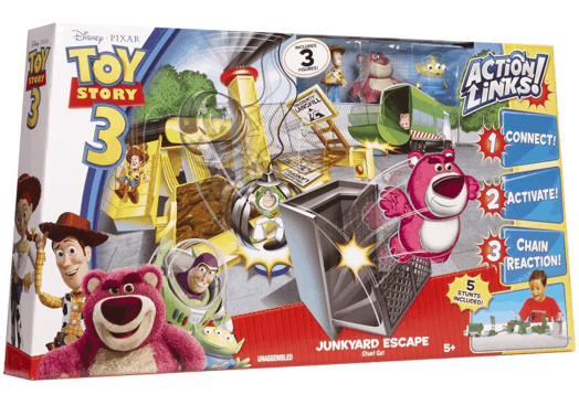 Toy Story Action Figures Set : Toy story deluxe action figure set al s toy barn flickr