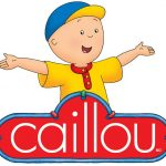 Caillou Learning Train and Doll