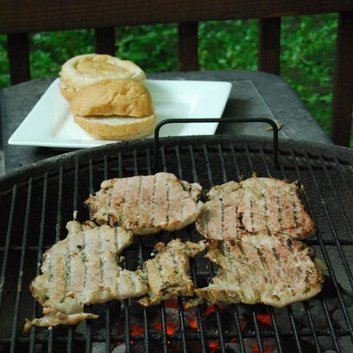 Grilled Pork Tenderloins
