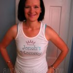 Just Jen Custom Design T-Shirt Review and Giveaway