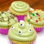 Spookamole: Avocado Cupcakes with Avocado Buttercream