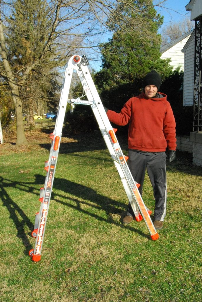 Little Giant Xtreme Ladder Review A Mom S Impression