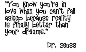 Inspirational Dr. Seuss Quotes about love