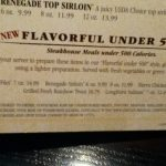 "LongHorn Steakhouse ""Flavorful Under 500"" Review and Giveaway"