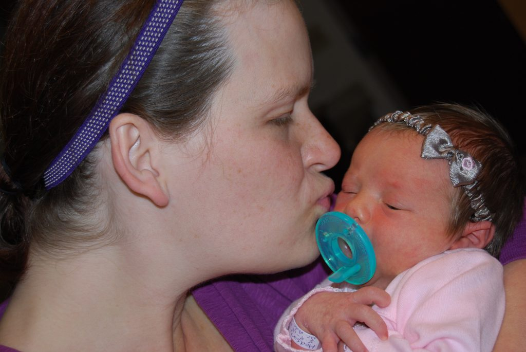 Baby Girl and Mommy