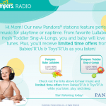 """Pandora – New Baby & Toddler Listening Stations ($25 Babies""""R""""Us GC Giveaway)"""