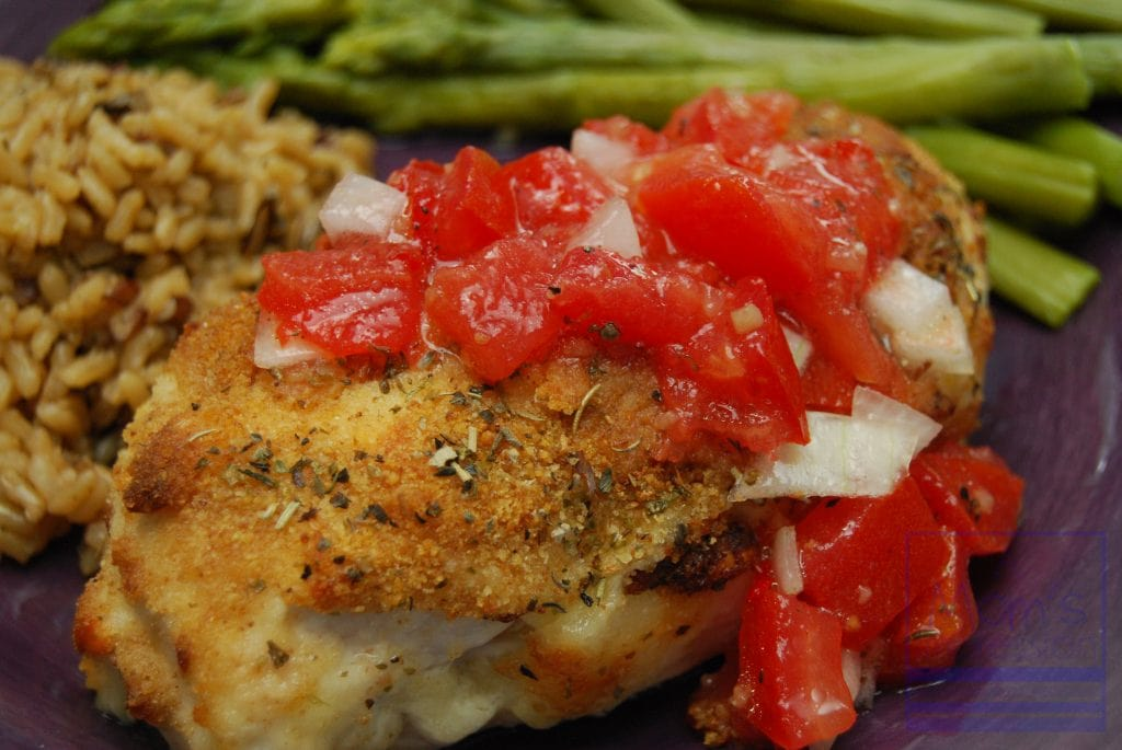 Parmesan-Crusted Bruschetta Chicken - A Mom's Impression | Parenting ...