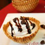 Frozen Coffee Cream Delight