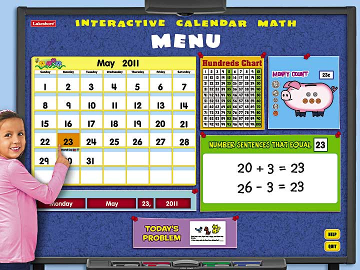Kindergarten Calendar Smartboard : Lakeshore learning materials software review giveaway a