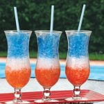 Red, White & Blue Striped Juice Freezie