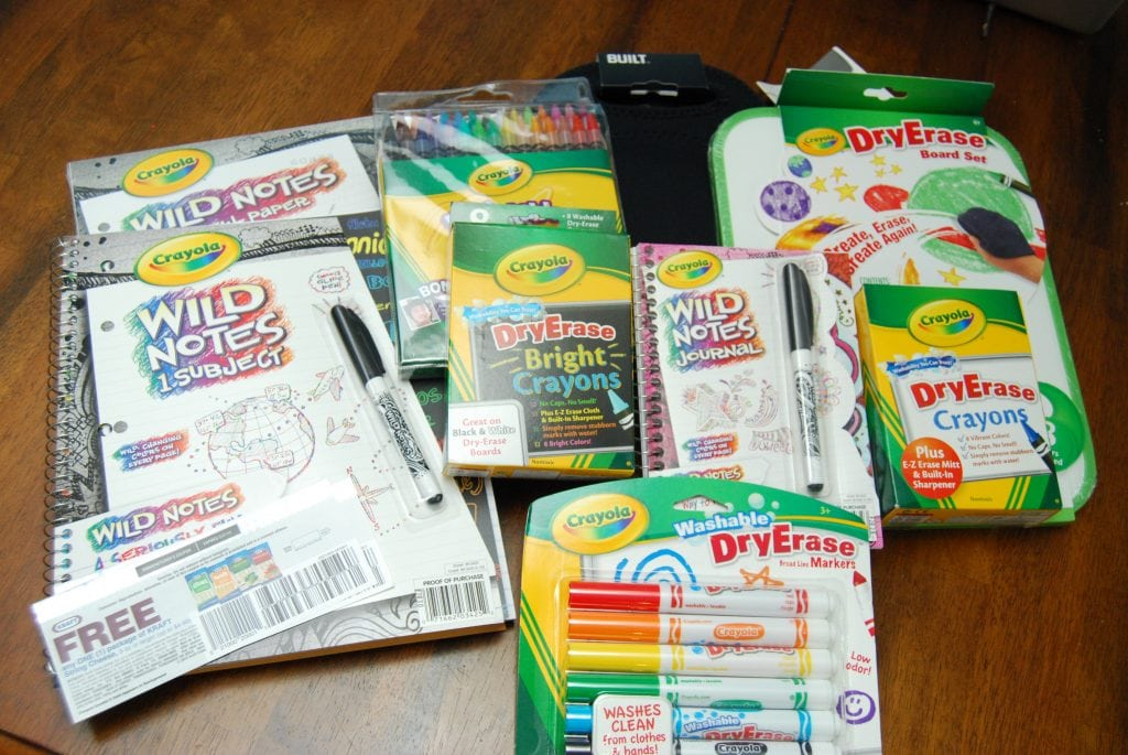 Crayola prize package