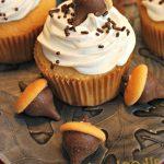Acorn Snickerdoodle Cupcakes