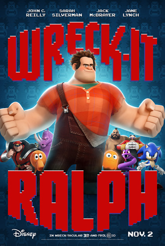 Wreck it Ralph moive poster