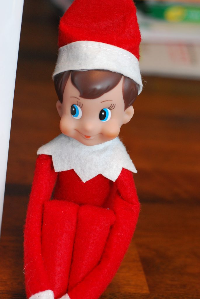 My son named him Ryker! He has been having a blast finding him every morning. So far Ryker has been a pretty good elf. We will see what happens this week!