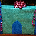 How to Wrap a Present for a Princess & DIY Wrapping Paper Bows