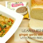 Lunch with Lean Cuisine, Skinny Cow and Homemade Asian Sweet Bread