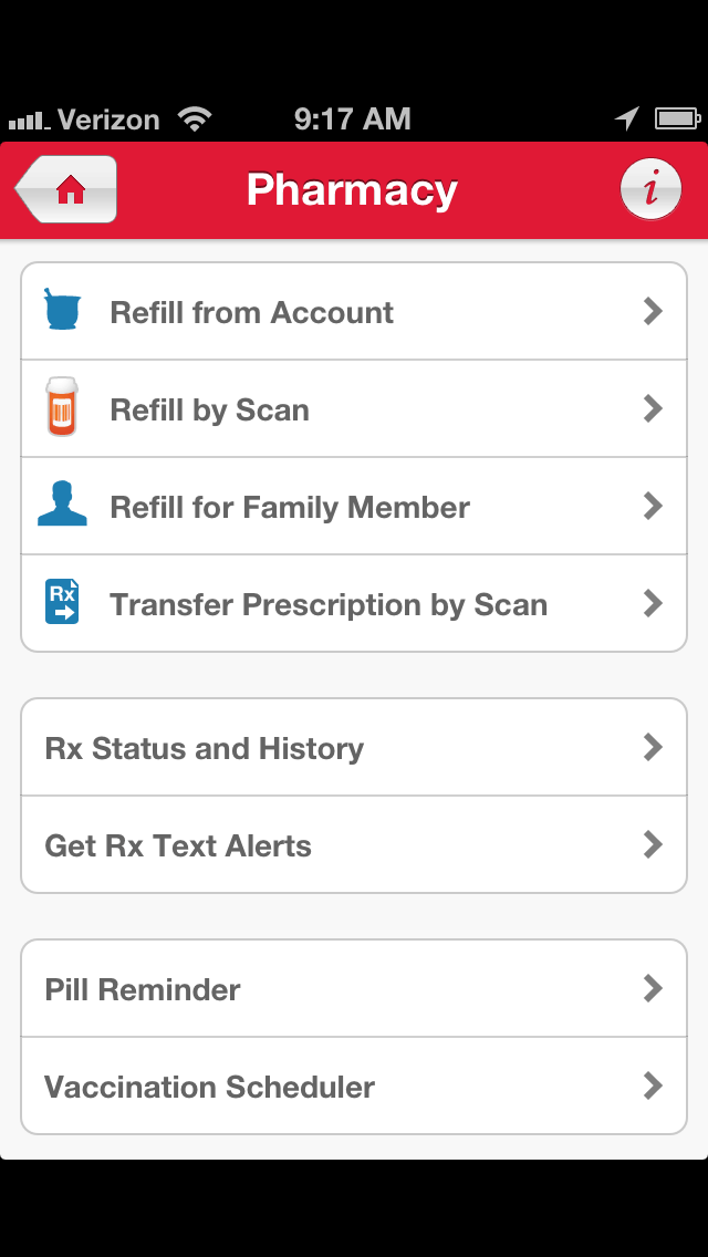 Walgreen's Pharmacy App