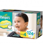 Pampers Swaddlers are now in Sizes 4 and 5 at Target – #Giveaway