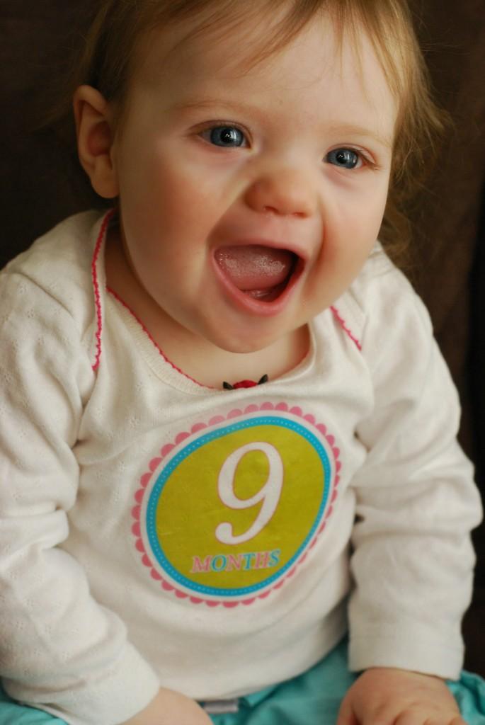 Caroline 9 month