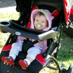 Eddie Bauer Trail Hiker 3- Wheel Travel System Review and Giveaway