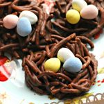 Adorable and Easy No Bake Bird's Nest Cookies