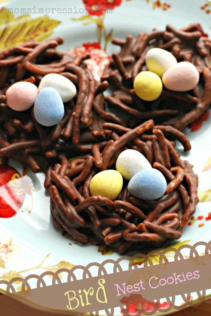 Chow Mein Bird Nest Cookies