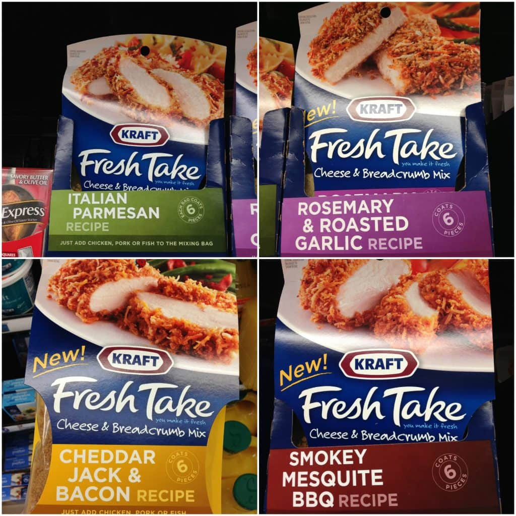 KRAFT Fresh Take Flavors