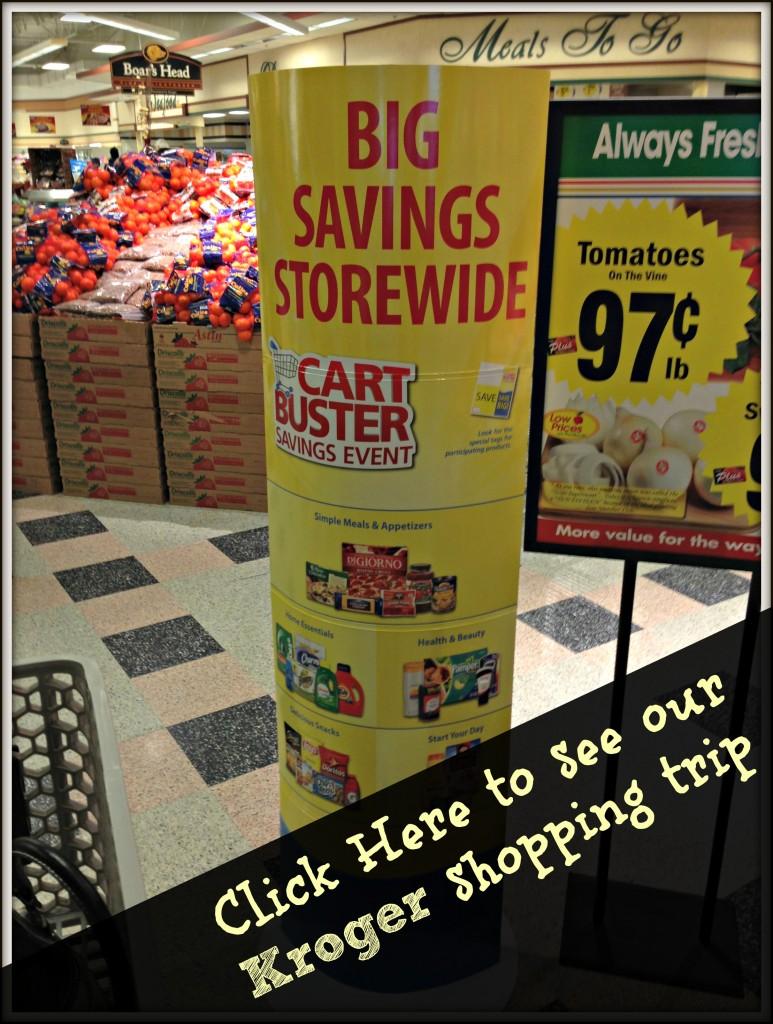 My Kroger Shopping Trip