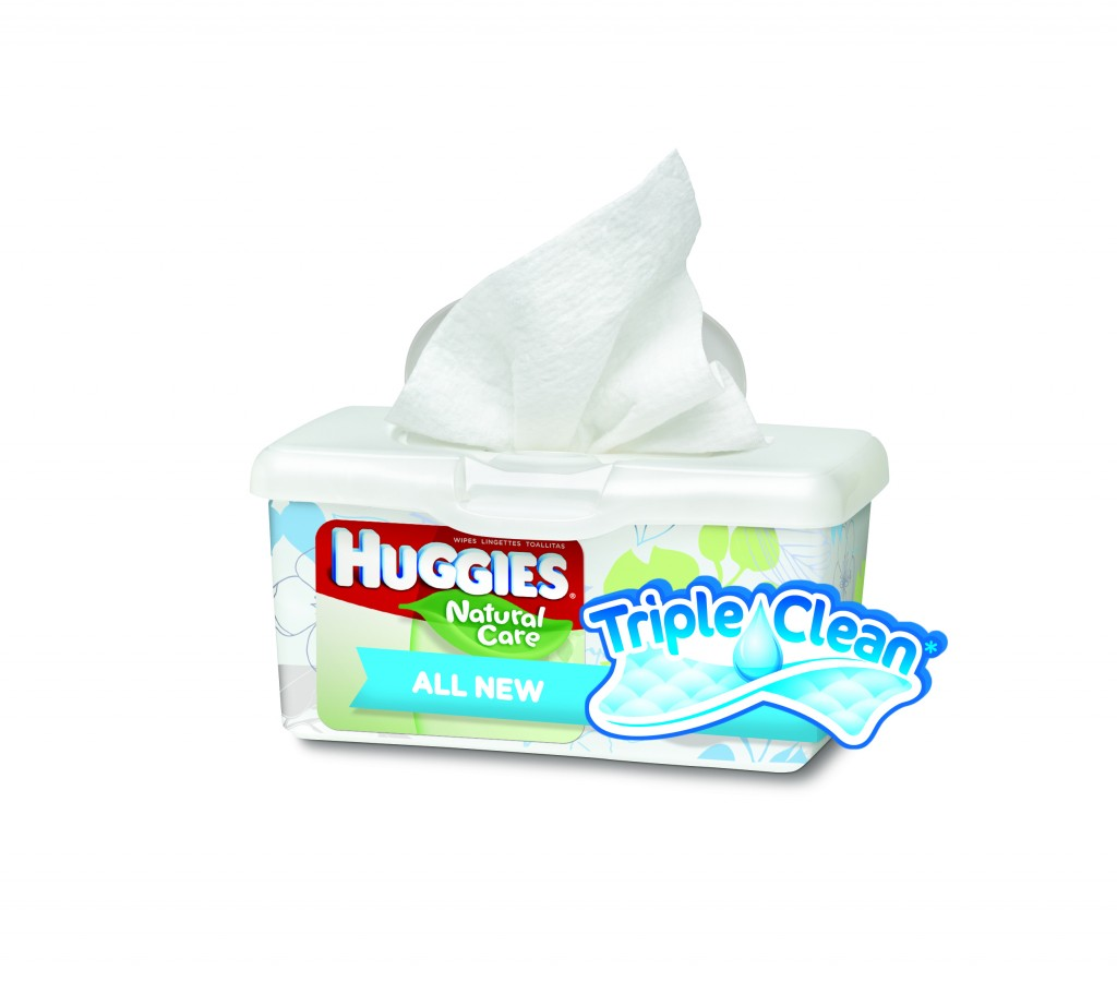 Natural Care Triple Clean Wipes - Hero Image