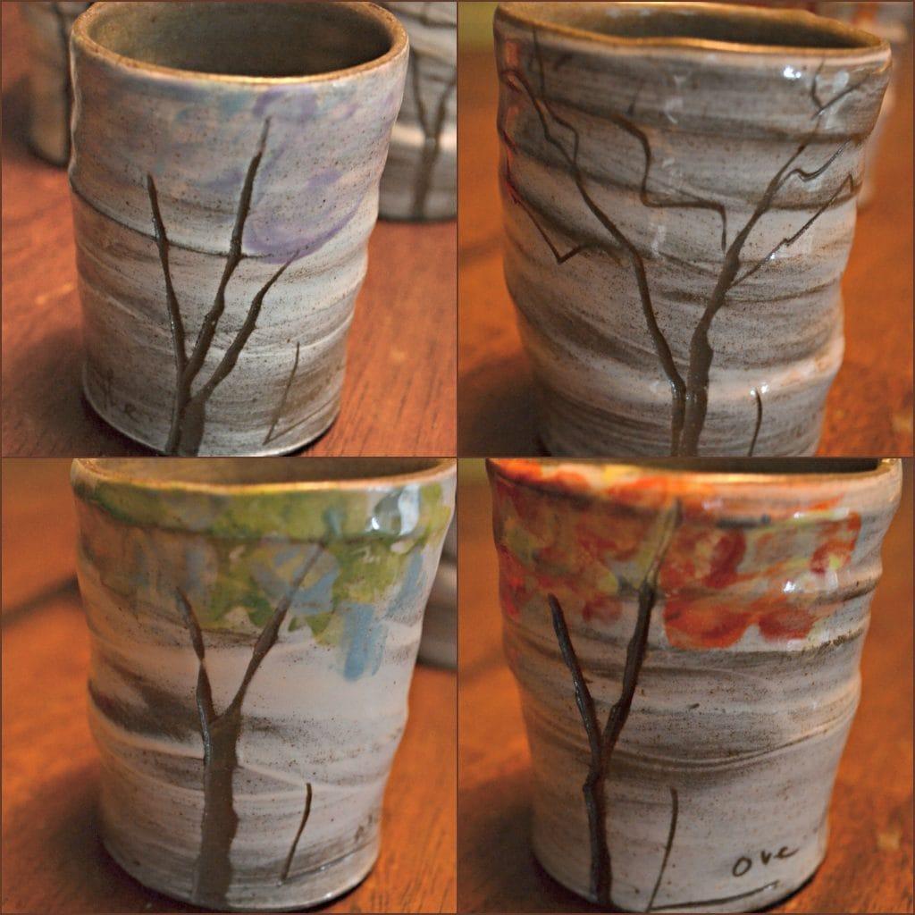 4 Seasons Mug Set