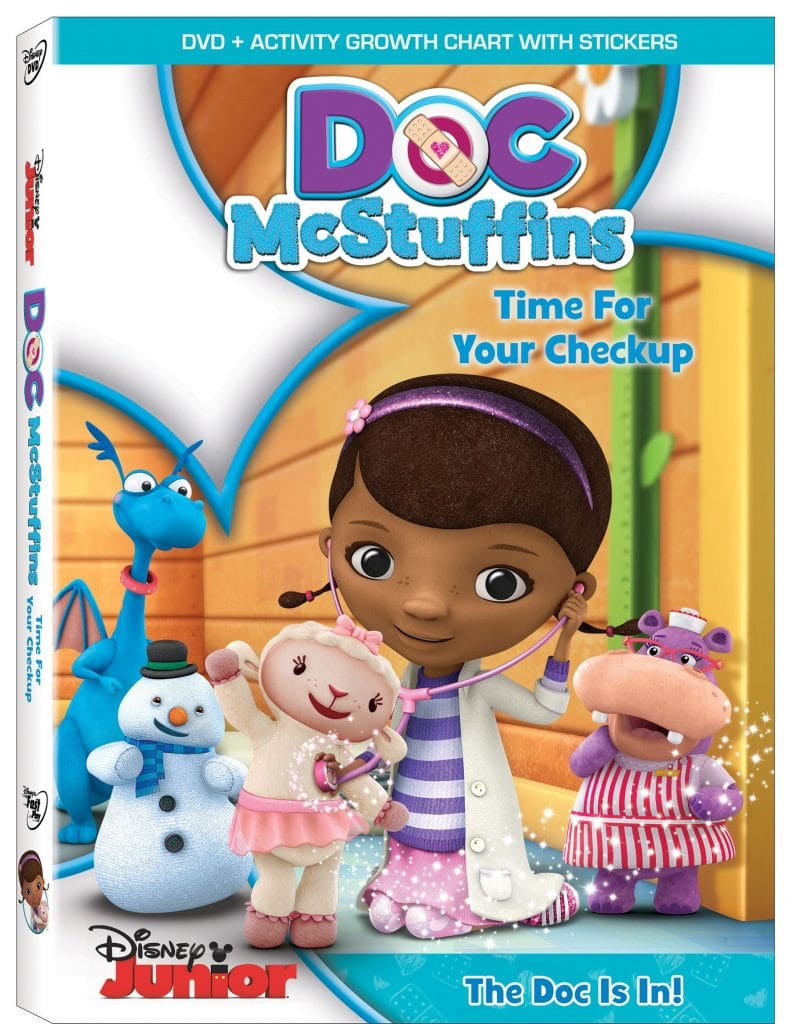 Doc McStuffins Time For Checkup Box Art