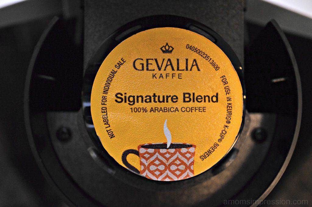 Gevalia single serve cup