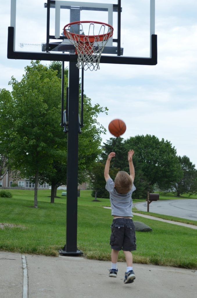 Little Basketball Player