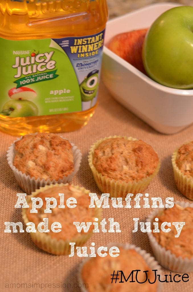 Juicy Juice Muffins