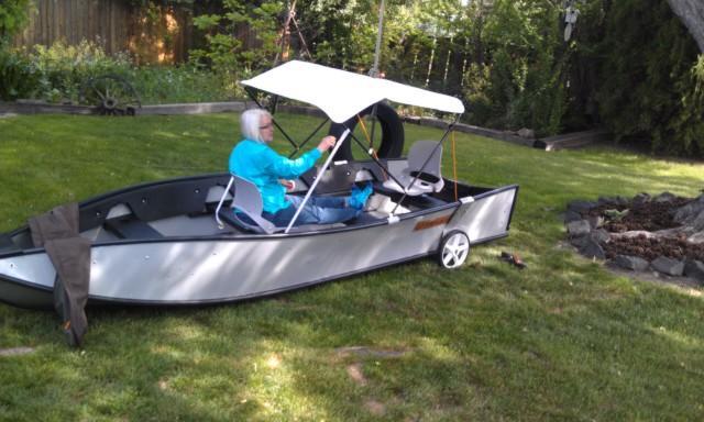 Fold Up Boat