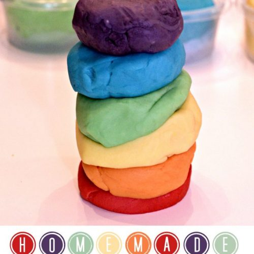 This homeade Kool-Aid play dough is a great craft for kids who love to DIY and play with play dough. This can also be a great sensory activity for kids who like to get some hands-on play! #ad