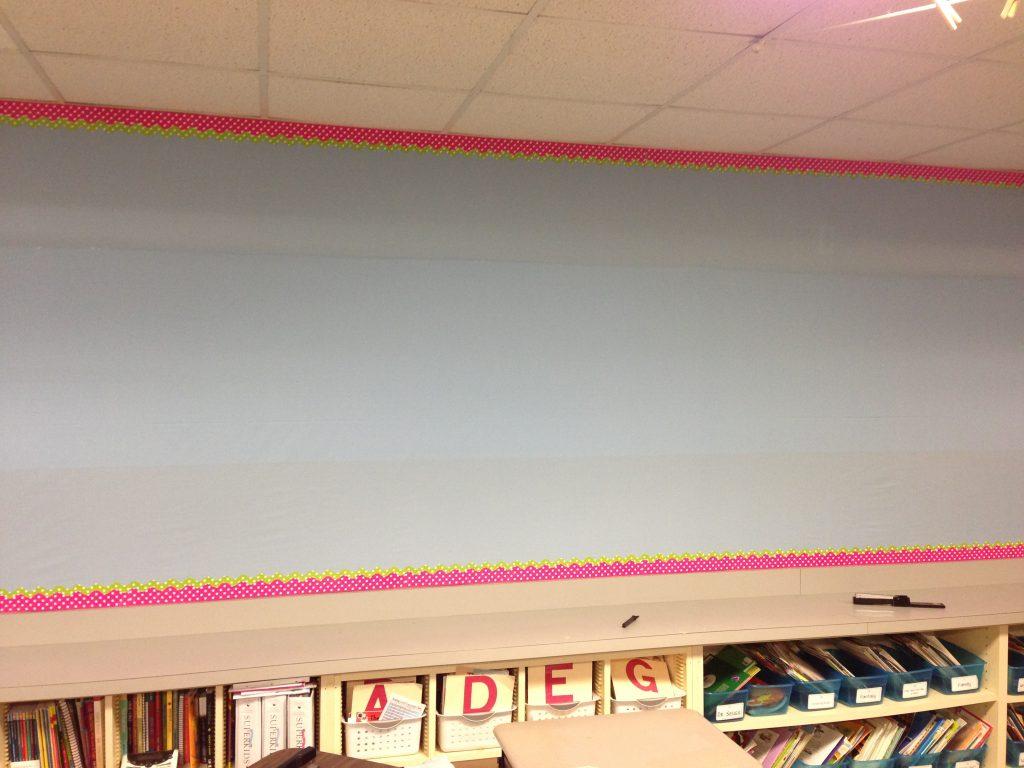Blank Word Wall