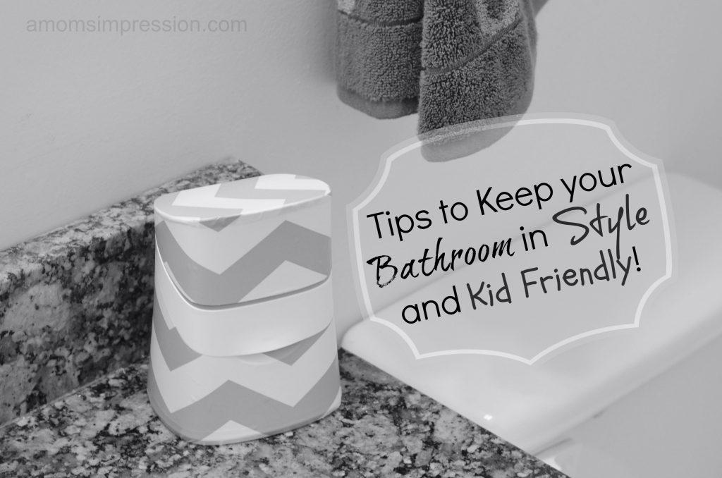 Kid Friendly Bathroom