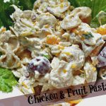 Chicken and Fruit Pasta Salad