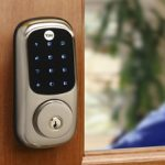 Back to School With Yale Real Living Key Free Touchscreen Deadbolt