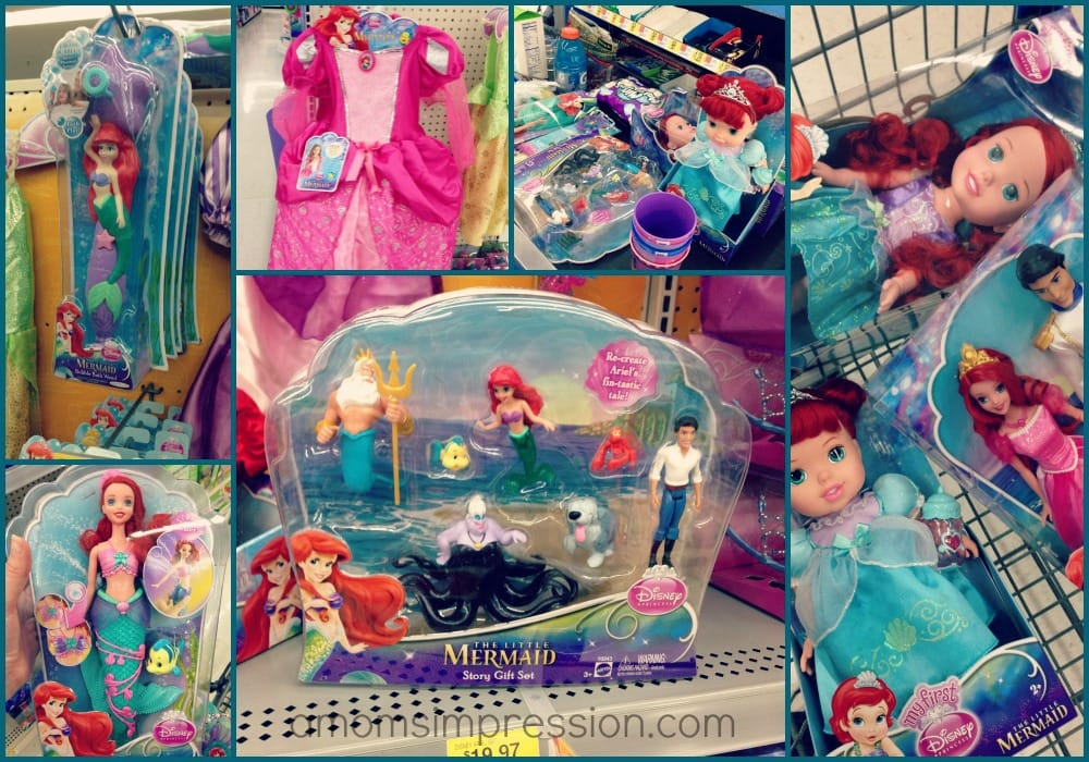 The Little Mermaid Toys