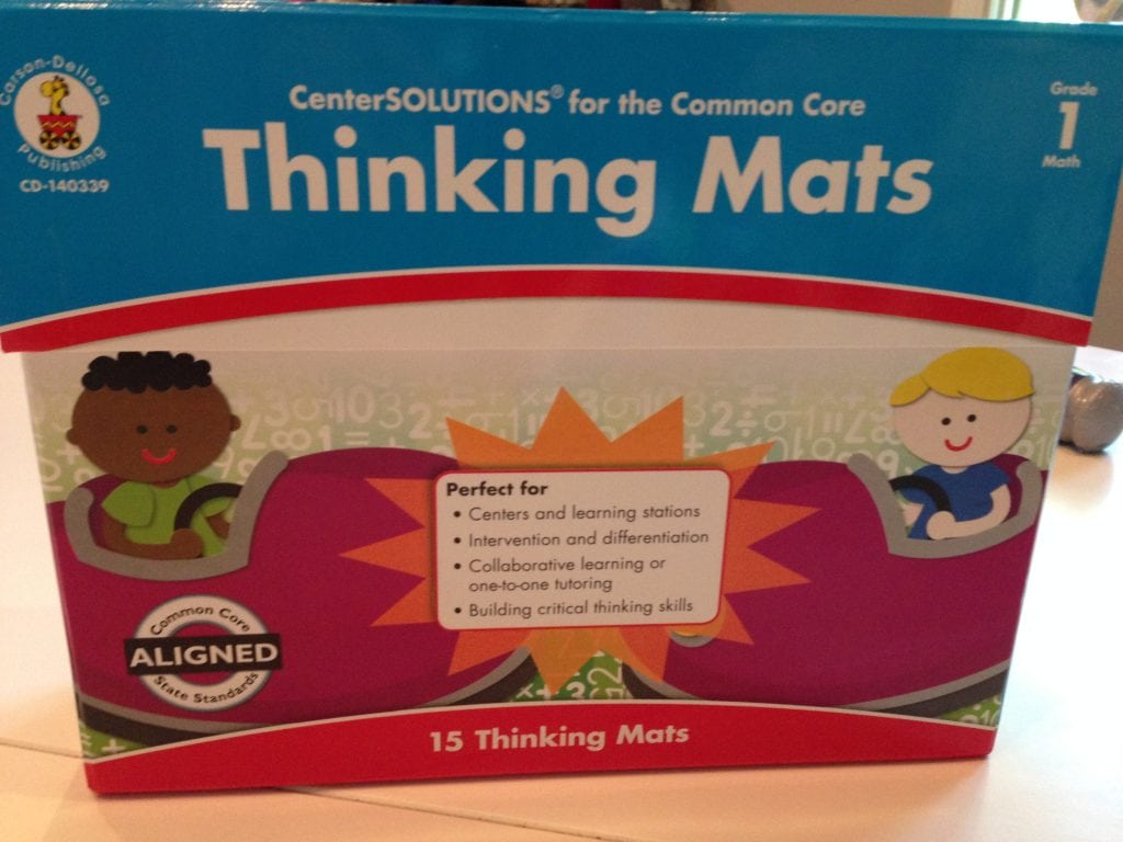 Thinking Mats for 1st Grade