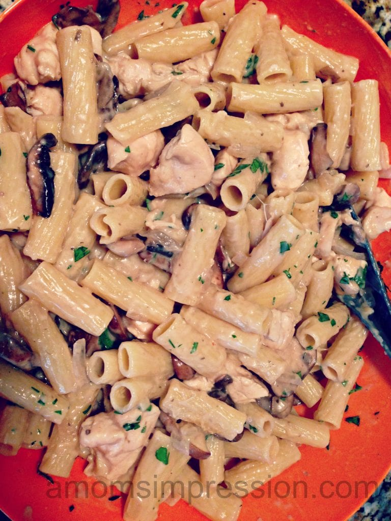 Marsala Chicken Pasta