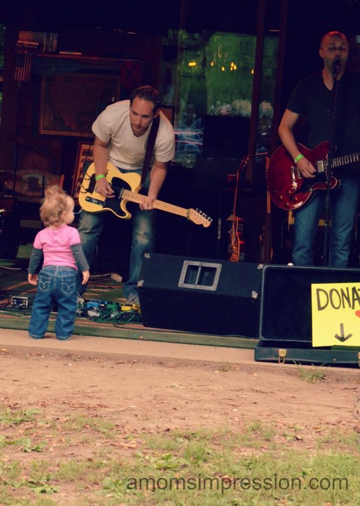 Watching Daddy Play Guitar #shop
