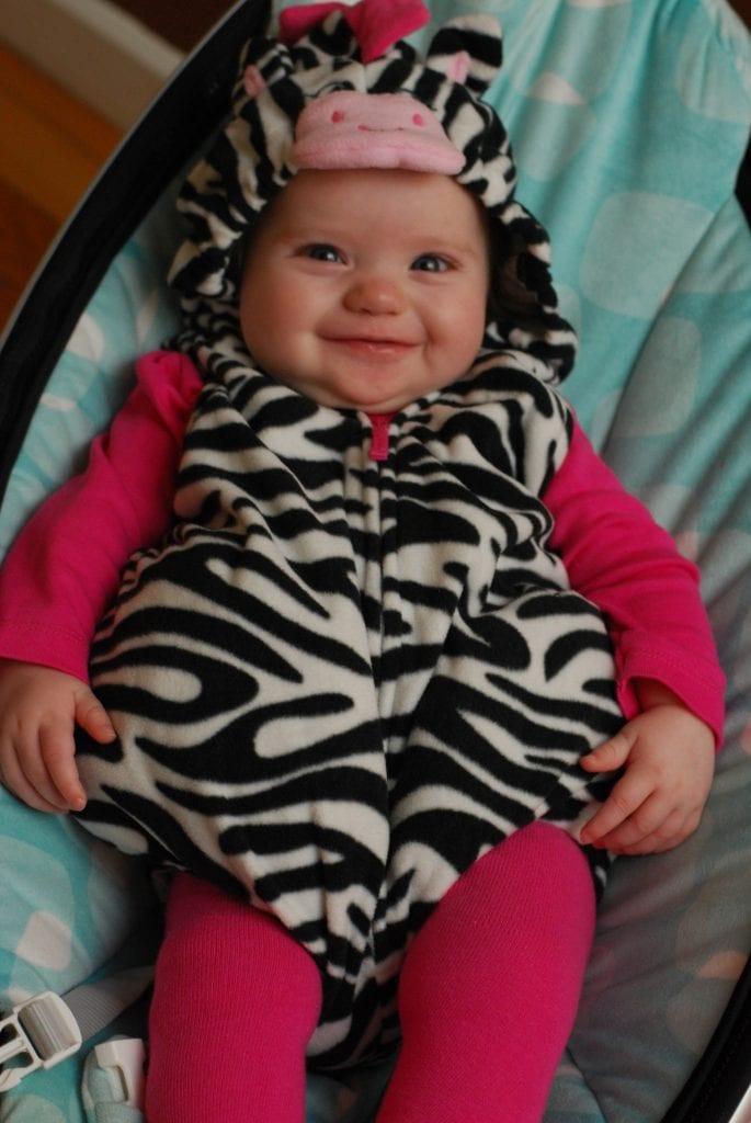 Halloween Baby Zebra